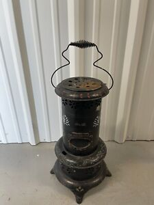 VINTAGE PERFECTION SMOKELESS KEROSENE OIL HEATER NO. 12. RARE