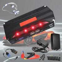 12V 68800mAh Auto Jump Starter Booster Caricabatterie Avviatore 4 USB Emergenza