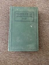 US Department of Agriculture Yearbook Of Agriculture 1932 HC Green VTG Farming