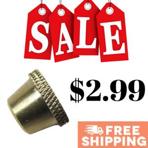 1 x Regular Brass Cone Piece Metal CP for Bonza Stem ON SALE - Australian Stock