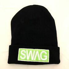 UNISEX MENS WOMANS KNIT KNITTED BEANIE RETRO COOL SWAG