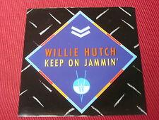 """Willie Hutch:  Keep On Jammin  UK  Near Mint   7"""""""