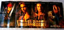 Pirates Of The Caribbean Curse Of the Black Pearl  Fold Out  Poster 49 X 21