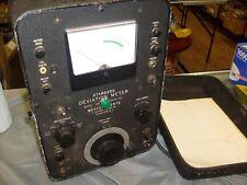 Ham Radio Vintage Standard Deviation Meter Model 140 Mcgraw Edison Boonton Nj