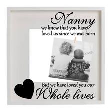 Nanny Grandma Mum Name Personalised Vinyl Decal Sticker Box Frame Gift DIY