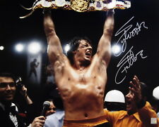 Sylvester Stallone Rocky Balboa Autographed 16x20 Photo YO ADRIAN ! ASI Proof