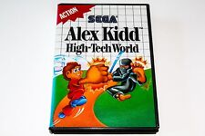 ALEX KIDD - HIGH TECK WORLD - SEGA MASTER SYSTEM - COMPLETE