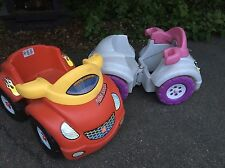 """Step 2 Scrambler Pedal Coupe """"His and Hers""""  Rare Find Great for Twins"""