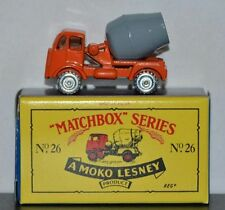 CEMENT MIXER TRUCK ~ Matchbox Recreation Originals No. 26
