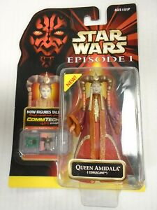 Hasbro Star Wars Episode I QUEEN AMIDALA (Coruscant) Sealed, New