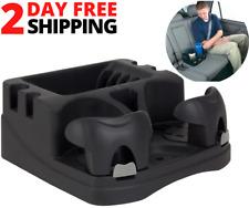 Car Center Universal Floor Console Storage Organizer Box Holder Cup black Rv