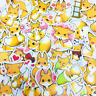 39 Fuchs Stickerbomb Fuchs tier Anime kawaii Aufkleber Sticker Mix Decals Fox