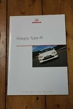 Honda Integra Type R brochure