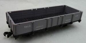 FLEISCHMAN MAGIC TRAIN Oe O16.5 ON30 2411 GREY OPEN - BOXED
