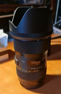 Sigma DC 18-35mm f/1.8 HSM DC AF Lens for Canon and USB Dock
