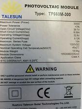 Talesun 300w Black Frame Monocrystaline Solar Panel Can Transport Australia Wide