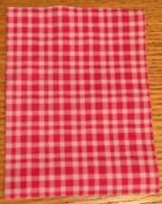 Vintage LUNDBY Red Rustic Tablecloth! A Beauty! VHTF!