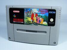 PUGSLEY'S SCAVENGER HUNT für Super Nintendo - nur SNES Spiel Modul addams family