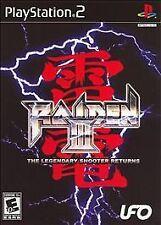 RAIDEN III PS2 W manual