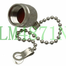 1pce Connector TNC RP.TNC male Protective Dust cap brass cover for TNC female
