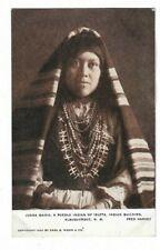 Juana Marie, A Pueblo Indian Of Isleta, Indian Building, Albuquerque. Postcard.