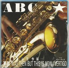 ABC - That Was Then But This Is Now Japanese vinyl single