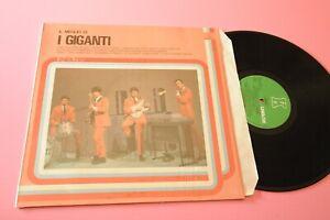I GIGANTI LP IL MEGLIO 1982 MINT