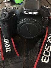 Canon EOS 70D 20.2MP Digital SLR Camera - Black  GREAT CONDITION!