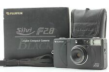 [ Almost Mint Boxed ] Fuji Fujifilm Silvi f2.8 Black 35mm Film Camera JAPAN #2
