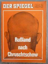 DER SPIEGEL 28. April 1965 - Zeitschrift zum Geburtstag / Jahrestag