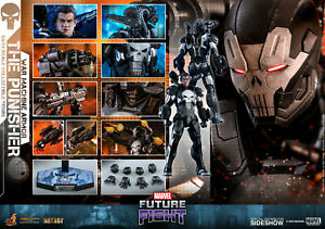 Hot Toys MarvelThe Punisher War Machine Armor Sixth Scale Figure VGM33D28