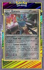 🌈Lucario Reverse -XY10:Impact des Destins-63/124-Carte Pokemon Neuve Française