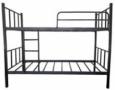 Etagenbett Hochbett Metall Rahmen 200x90cm Jugendbett Doppelhochbett Kinderbett