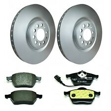 Hella Pagid Front Brake Kit 312mm DPK068 fits VW GOLF MK IV 1J1 2.8 V6 4motion