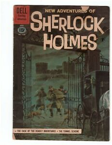 Dell Four Color 1169 - new adventures of Sherlock Holmes