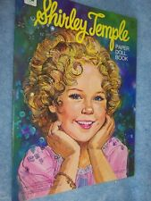 1976 Whitman- Shirley Temple Paper Doll Book