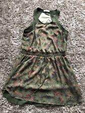 Ladies Pull & Bear Green Dress Size XL (12-14) (b13cb)