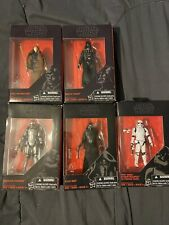 Star Wars 3.75 Inch Black Series Action Figure Lot