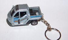 CUSTOM MADE..POLICE METER CAR (SILVER MET.) KEYCHAIN..GREAT GIFT!