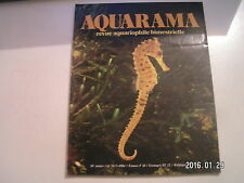 ** Aquarama n°76 Hippocampus kuda / Le Gurami chocolat / brochet du pays Maya
