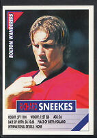 Panini Football Sticker - Super Players 1996 - No 56 - Bolton - Richard Sneekes