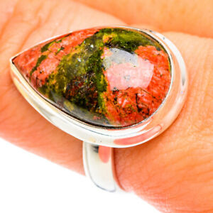 Unakite 925 Sterling Silver Ring Size 9 Ana Co Jewelry R76917F