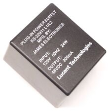 Lucent Tech KS-22911L1/L2 AC DC Power Supply Adapter Charger Output 48V 200mA