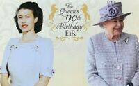 2016 AUSTRALIA STAMP PACK 'THE QUEEN'S 90TH BIRTHDAY' -  MNH STAMPS & MINI SHEET