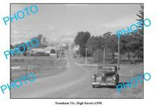 OLD LARGE PHOTO, TRENTHAM VICTORIA, HIGH STREET c1950