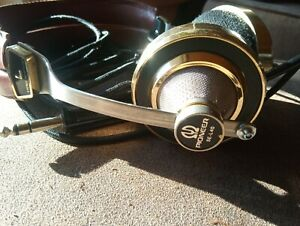 Vintage Kopfhörer Pioneer SE-L40  goldfarben