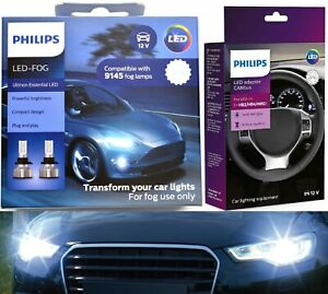 Philips Ultinon LED 40W Canceller H10 Two Bulbs Fog Light Replacement Upgrade OE