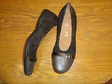 GABOR LEATHER SHOES LOAFERS FLATS NEW SIZE 8.5 (UK 6.5) $120.00