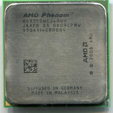 Lot of 10 AMD Phenom X4 9550 socket AM2+ CPUs HD9550WCJ4BGH 2.2 GHz quad core
