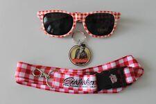 ORIGINAL Andreas Gabalier Fanpaket:Brille,Schlüsselband,Schlüsselanhänger-NEU